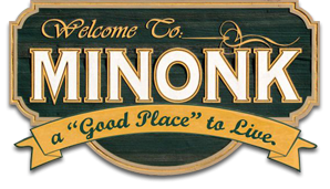 City of Minonk Badge